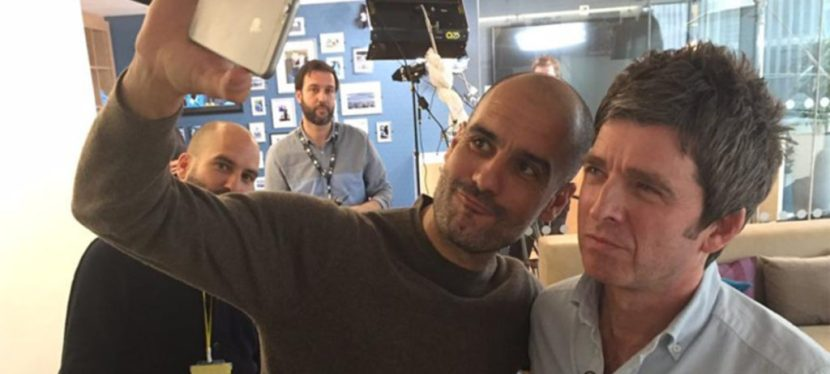 Noel Gallagher interviewer Pep Guardiola