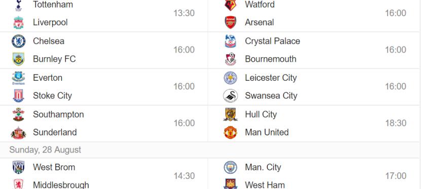 Premier League – 3.runde