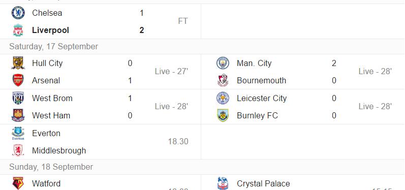Premier League – 5.runde