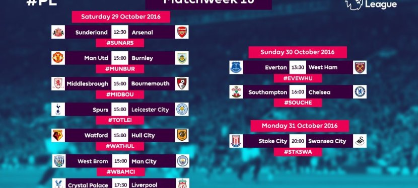 Premier League – 10.runde