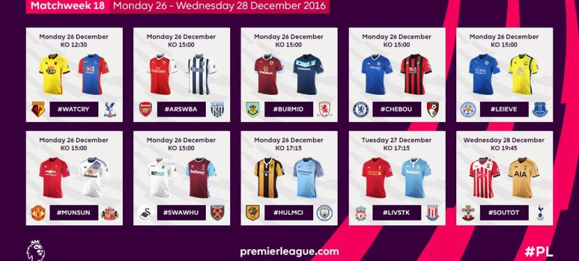 Premier League – 18. runde